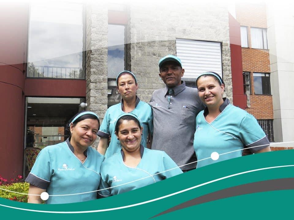 informar sobre empresa de aseo para conjuntos residenciales Bogotá