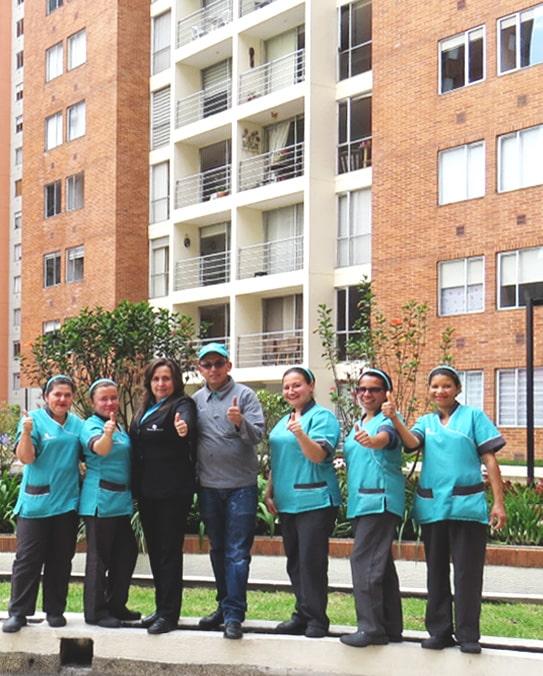 servicios de aseo en unidades residenciales