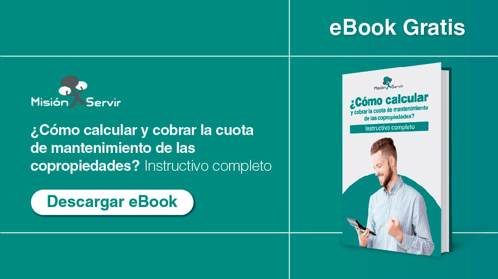 Ebook 4 - Descargar instructivo para calcular la cuota de manteniemiento