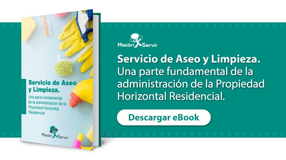 Descargar Ebook de Aseo y Limpieza en Conjuntos Residenciales -Misión Servir