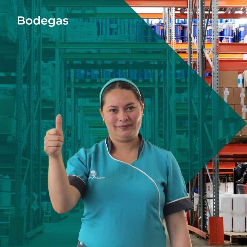 Aseo en Bodegas - Misión Servir
