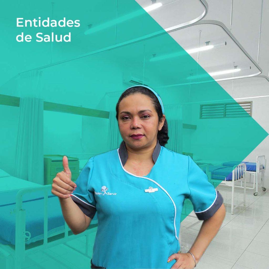 Aseo en Entidades de Salud - Misión Servir