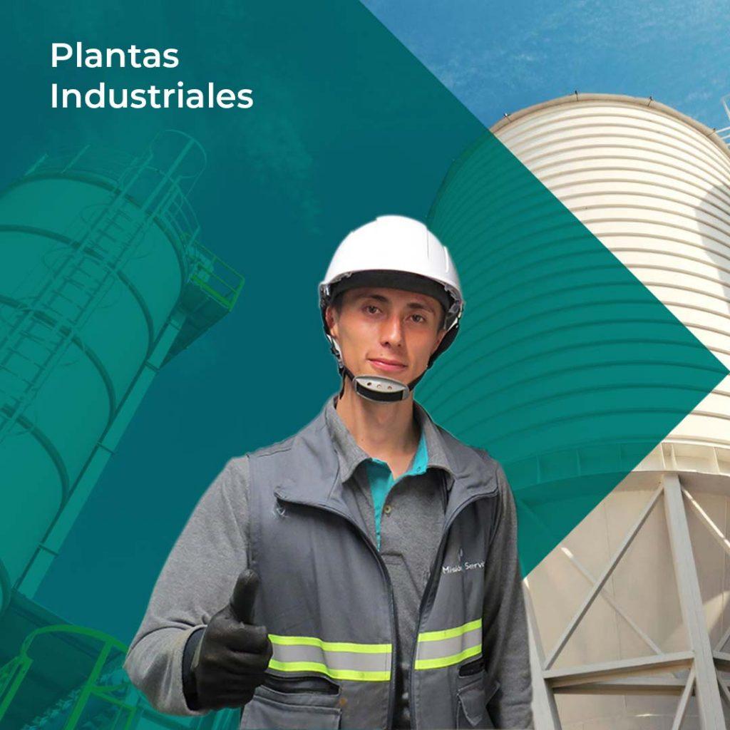 Limpieza y aseo en Plantas Industriales -Misión Servir
