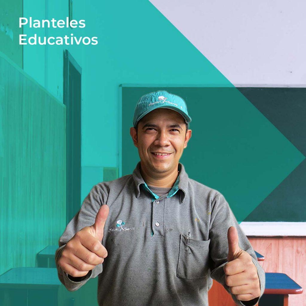 Limpieza y Aseo en Planteles Educativos - Misión Servir