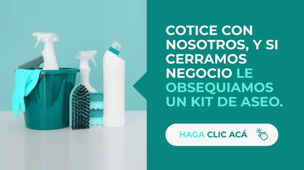 Cotiza con nosotros y entérate como adquirir un kit de limpieza - Misión Servir